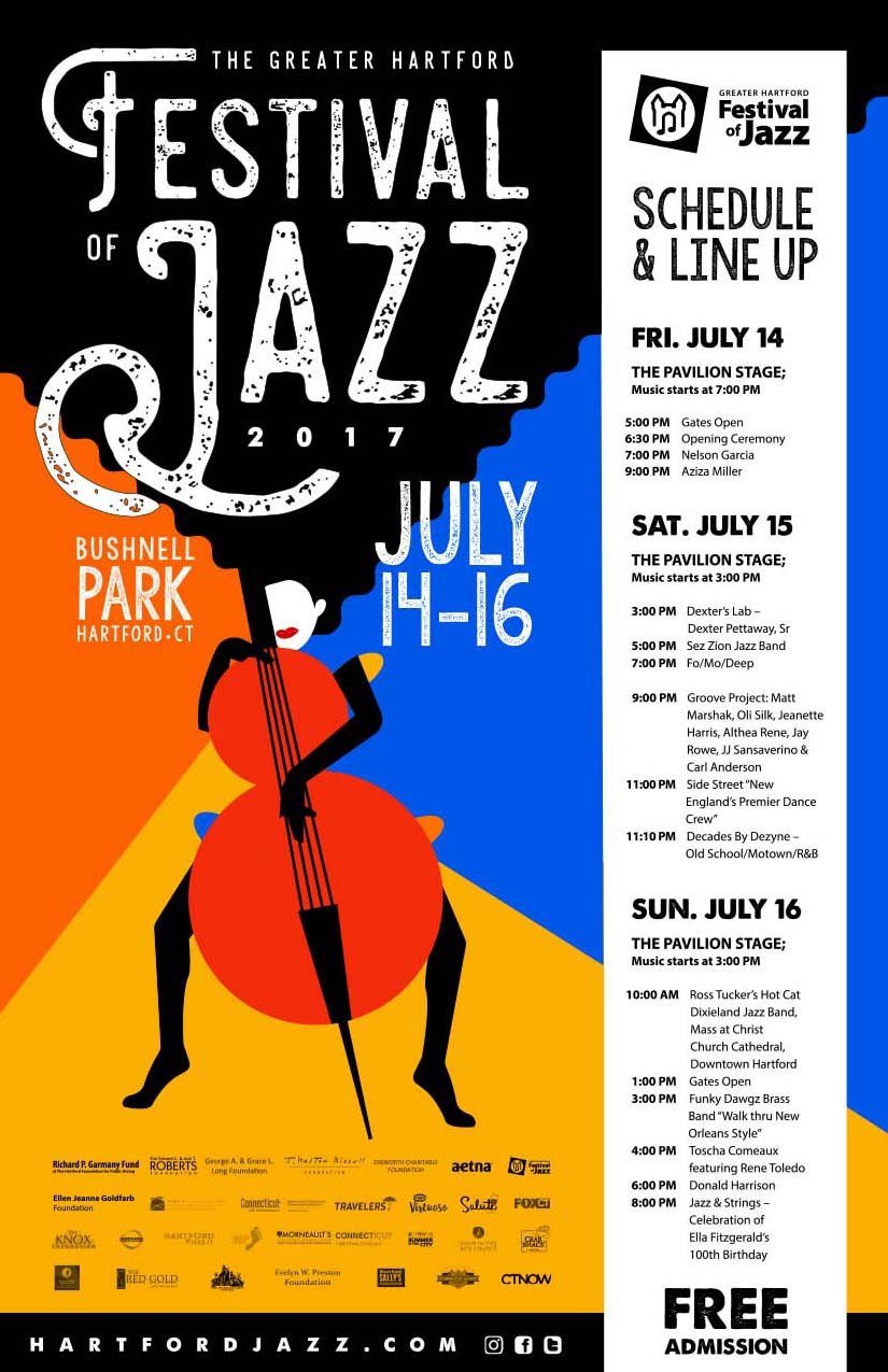 The 2019 Greater Hartford Festival of Jazz | Hartford Connecticut USA